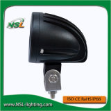 lumière pilotante de phare de CREE de moto de 10W DEL 2 pouces