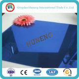 glace r3fléchissante bleu-foncé de 4-6mm avec le certificat de Ce/So