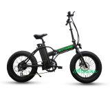20 بوصة سمين إطار العجلة ثلج كهربائيّة يطوي درّاجة مع [ليثيوم بتّري]
