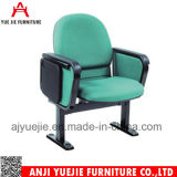 Neuer Entwurfs-einfacher Auditoriums-Stuhl mit Metalarmlehne Yj1012