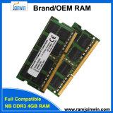 소매 1333MHz 256mbx8 휴대용 퍼스널 컴퓨터 렘 DDR3 4G를 사십시오