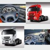 Camion d'entraîneur de la cabine 340HP 45t de circuit de toit plat de Saic-Iveco Hongyan 6X4