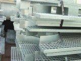 Reja de acero galvanizada de la dimensión de una variable del ventilador para el suelo de las plataformas