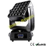 25X12W farbenreiches LED bewegliches Hauptlicht mit Matrix