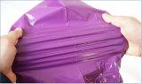 Kundenspezifische Größen-purpurrote Farben-Plastikpfosten-Beutel