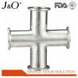 衛生ステンレス鋼の管付属品のDINによって溶接される等しい十字