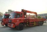 Dongfeng 6X4 Lotty lourd Turck a monté avec le camion de la grue 12t