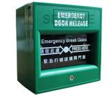 Tecla da saída Emergency para o alarme de combate ao fogo (SAGreen)