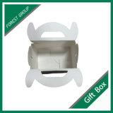 Ivory Papppapier-Süßigkeit-Träger-Kasten