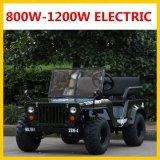 De grote Elektrische MiniJeep van de Grootte 1200W 60V 34ah kan Aandrijving 55km60km zijn
