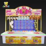 Het werpen van het Pijltje om de Cabine van Carnaval van het Pretpark van de ballon te ontspruiten