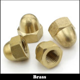 Blue Color Stainless Steel Hex Dome Cap Nuts