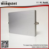 Gain 65dBi Sortie Tri Band GSM / Dcs / WCDMA Network Network Booster