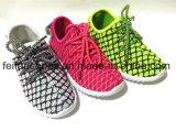 子供の注入のズック靴の中国の製靴工場(FFDL112103)