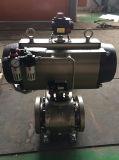 Válvula de bola neumática con caja de interruptores Electroválvula y regulador de filtro de aire