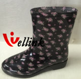 New Style High Quality Fashion Ladies Rainboots