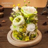 Flor hecha a mano de Rose del arte para la decoración casera