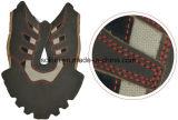 Máquina de costura industrial do bordado de Sokiei do irmão de Japão para bolsas das sapatas