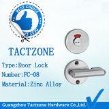 Badezimmer-Partition-Befestigungs-Zink-Legierungs-Anzeiger-Verschluss für gewöhnliche Tür