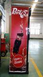 Pepsi와 콜라를 위한 단 하나 문 전시 냉각기 380L