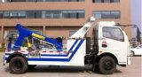 Camion de remorquage d'épave de Dongfeng LHD Rhd 6t à vendre