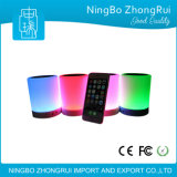 De DEL de contact de lampe de la Chine USB d'ordinateur intelligent de PC mini Bluetooth haut-parleur sans fil portatif de Digitals