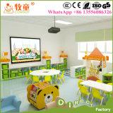 Conjunto pré-escolar de mesa e cadeira, Cadeiras pré-escolares de plástico para venda