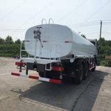 Sinotruk 20 입방 HOWO 6X4 물 물뿌리개 트럭
