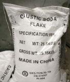 De Vlokken van het Hydroxyde van de bijtende Soda/van het Natrium/van NaOH