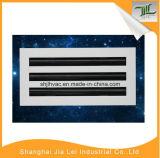 Aluminiumgitter HVAC-linearer Schlitz-Diffuser- (Zerstäuber)luft-Luftauslaß