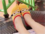 Cuty Günstling-Tief geschnittene unsichtbare Kleid-Socke für Haus