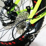 20inch 타이어 현탁액을%s 가진 소형 전기 뚱뚱한 접히는 자전거