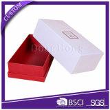 Impresión de papel duros de la caja de zapatos de embalaje colorido elegante