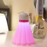Обязанности USB светильника света СИД ночи Badminton светильник ухода за больным спальни ребенка светильника младенца светильника творческой энергосберегающей малый
