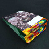 Fondo plano se levanta la bolsa de papel de aluminio Zip Lock café bolsa / Papel Kraft Food vertical bolsa de plástico