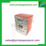 화장품/향수/Skincare를 위한 PVC/애완 동물/마분지 삽입을%s 가진 주문 우량한 호화스러운 서류상 선물 접히는 상자