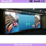 Cor cheia que anuncia a parede do indicador de diodo emissor de luz do painel do diodo emissor de luz da placa para a animação video