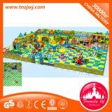 Гальванизированный лабиринт игры крытых детей зоны спортивной площадки мягкий