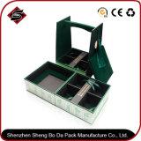 Коробка коробки логоса печатание цвета пятна 3 подгонянная бумажная упаковывая