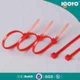 Igoto Manufacturered多彩なナイロンケーブルのタイの手頃な価格の自己はナイロンケーブルのタイをロックした
