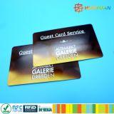 cartão de papel Ultralight do transporte RFID de 13.56MHz ISO14443A MIFARE C