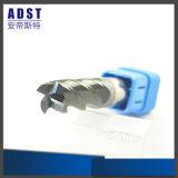 Utensile per il taglio di alluminio del laminatoio di estremità degli accessori 4flute di CNC di Edvt