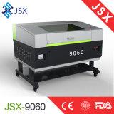 Mini máquina de estaca da gravura do laser do CO2 Jsx9060 para o couro da tela