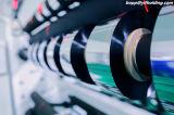 película de poliester metalizada 8mic usando para el producto del empaquetado flexible y del aislante