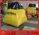 Haltbarer aufblasbarer Paintball Bunker für Schießen-Spiel