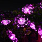 7mの50LEDsヒマワリの花の装飾的なライトは庭屋外党結婚式のクリスマス太陽LEDストリングライトを防水する