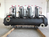 Refrigerador de água industrial de refrigeração água junto com a torre refrigerando e o tanque