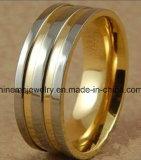 Anillo de oro de talla Titanium de la joyería de Shineme (TR1818)