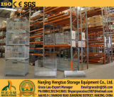 Steel Wire Mesh Pallet Container voor Warehouse Storage Rack