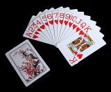 Cartões de jogo novos enormes do PVC do plástico do deslocamento predeterminado 100%